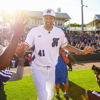Dirk Nowitzki's 2018 Heroes Celebrity Baseball Game
