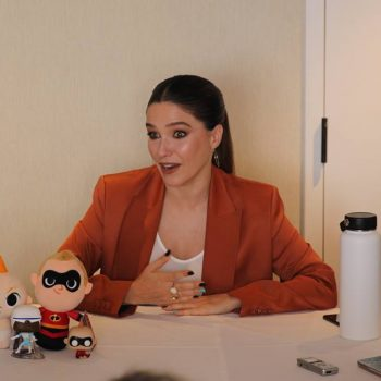 Sophia Bush Interview #Incredibles2Event