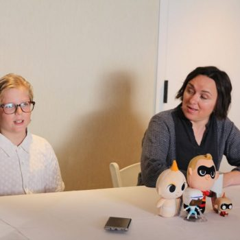 An Interview With Sarah Vowell And Huck Milner  #Incredibles2Event