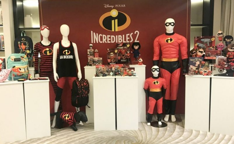 incredibles merchandise