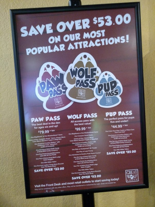 5 Reasons To Buy A Paw Pass At Great Wolf Lodge - Hustle Mom
