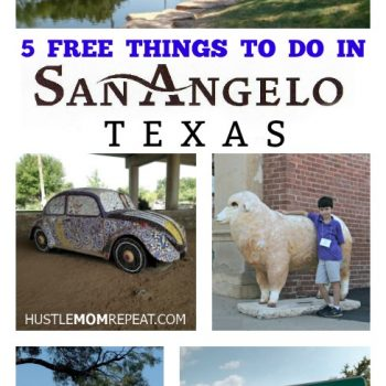 Free Things To Do In San Angelo Texas #TTTSanAngelo
