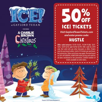 Save 50% On ICE! Tickets With This Gaylord Texan ICE Coupon