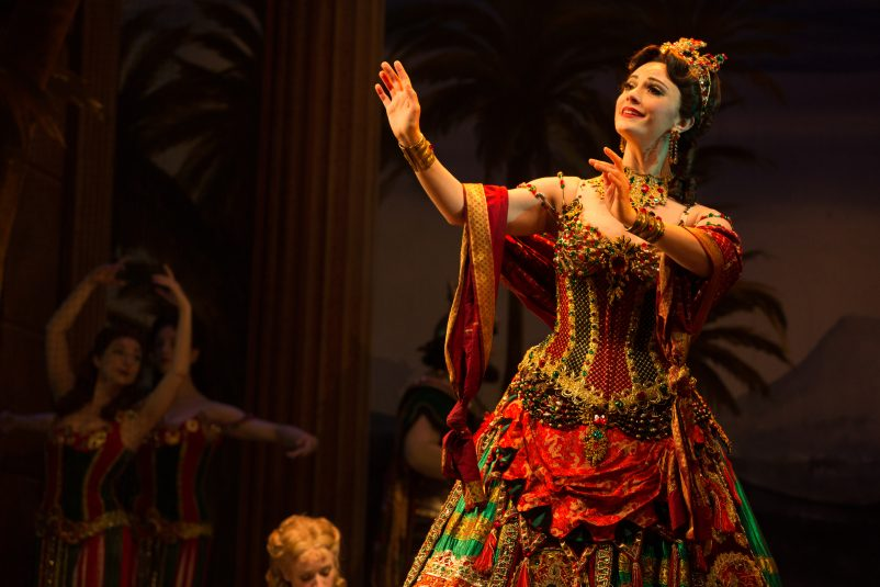 12. THE PHANTOM OF THE OPERA – Trista Moldovan as Carlotta – photo Matthew Murphy