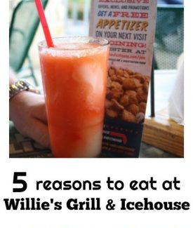 5 Reasons To Eat At Willie's Grill & Icehouse