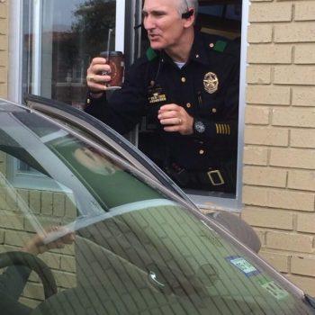 McDonald's Coffee With Cops In Dallas