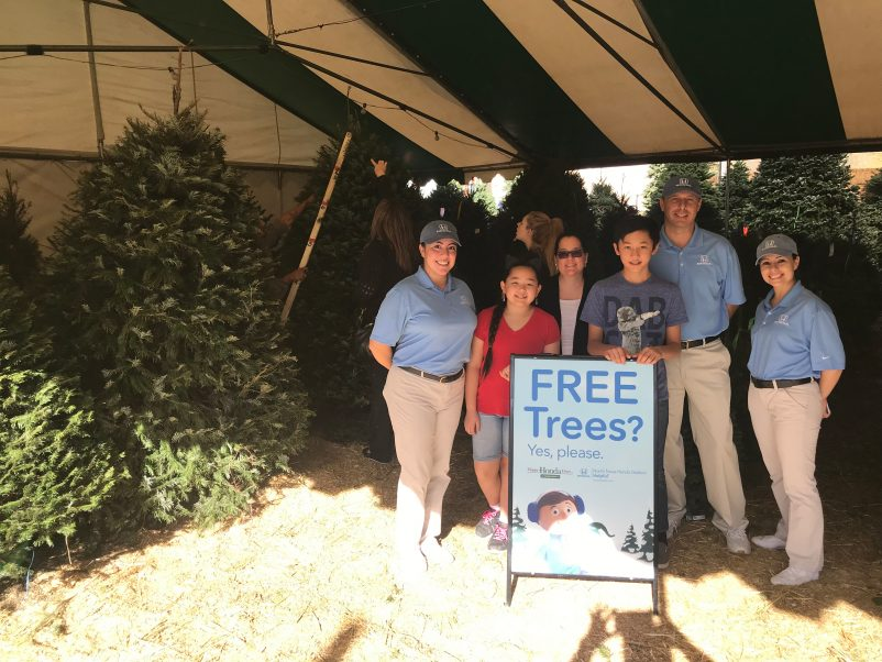 FREE Christmas Tree Events